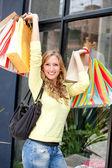 Shopping woman — Стоковое фото