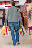 Male shopper — Foto Stock