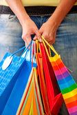 Torby na zakupy — Zdjęcie stockowe