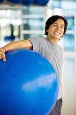 Retrato de homem de ginásio — Foto Stock