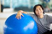 Retrato de hombre de gimnasio — Foto de Stock