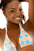 Beautiful bikini girl — Stock Photo