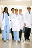 Doctors in a hospital — Stock Photo