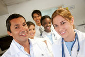 Doctors at a hospital — Stock Photo