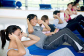 Workout group — Stock Photo