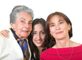 Three generation family — Stock Photo