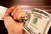 Dollar power — Stock Photo