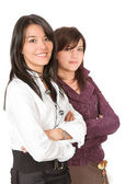 Business young women — Stock Photo