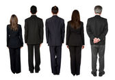 Business team - back facing — Stockfoto