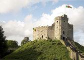 Cardiff castle 2 — Stock Photo