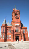 Pierhead building - cardiff bay — Stock Photo