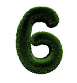 Number six - 6 — Stockfoto