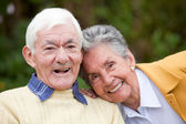 Couple of elders — Stock Photo