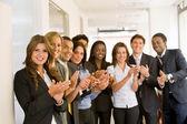 Succesvolle business team — Stockfoto