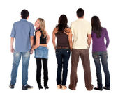 Casual group of — Stock Photo