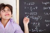 Aprendizagem matemática — Fotografia Stock