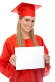 Studente di laurea — Foto Stock