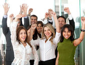 Business team success — Stock Photo