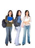 Female students — Stock Photo