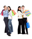 Shopping par — Stockfoto