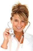 Cute physician — Stock Photo
