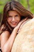 Woman portrait outdoors — Stock Photo