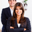 Business couple — Stock Photo #7710050