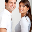 Couple's portrait - Stock Photo