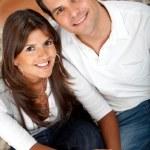 Couple's portrait — Stock Photo #7710054