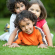 Playful kids - Stock Photo