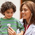 Female pediatrician — Stock Photo