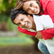 Happy couple outdoors — Stockfoto #7710206