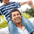 Father and son having fun — Stock Photo #7710211