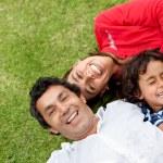 Happy family portrait — Stock Photo