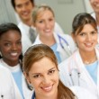 Doctors in a hospital — Stock Photo #7710247