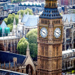 de Big ben in Londen — Stockfoto