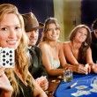 Stock Photo: Poker players