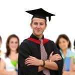 Graduation student — Stock Photo #7710410