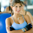 Royalty-Free Stock Photo: Gym woman