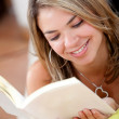 Woman reading — Stock Photo #7710421