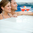 Stock Photo: Couple in vacations