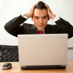 Worried business man — Stock Photo #7710433
