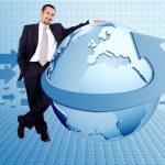 Worldwide business — Stock Photo