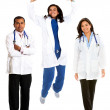 Happy doctors - Stock Photo