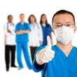Surgeon with thumbs up — Stock Photo #7710480