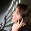 Business woman on the phone - Stock Photo