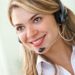Customer service representative — Stock Photo #7710543
