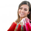 Woman with shopping bags — Stock Photo #7710547