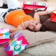 Tired fron shopping — Stock Photo #7710550