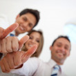 Business thumbs ups — Stock Photo #7710590